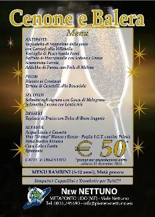 Cenone di Fine Anno al Lido Nettuno  - Matera
