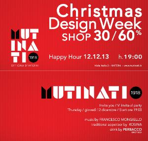 Christmas Design Week - 12 dicembre 2013 - Matera