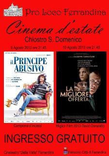 Cinema d'estate  - Matera