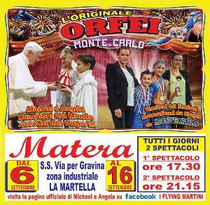 Circo Orfei Mamma Mia  - Matera