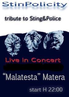 Concerti d'Osteria: Stinpolicity - 18 ottobre 2013 - Matera