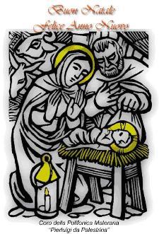 """Concerto di Natale del Coro della Polifonica Materana """"Pierluigi da Palestrina""""  - Matera"""