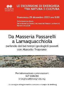 Da Parco dei Monaci a Contrada Lamaquacchiola  - Matera