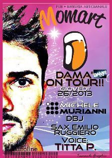 Dama on tour - 26 dicembre 2013 - Matera
