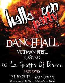 DanceHall - Halloween Party - 31 ottobre 2013 - Matera