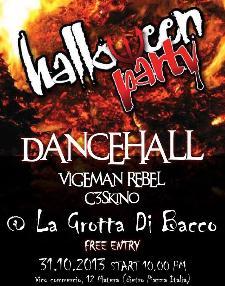 DanceHall - Halloween Party - 31 ottobre 2013 - Matera