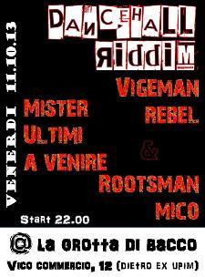 Dancehall Riddim - 11 ottobre 2013 - Matera