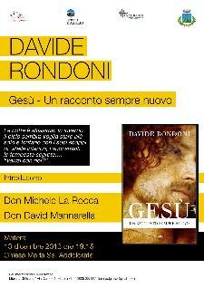 Davide Rondoni a Matera  - Matera