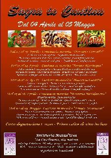 Degustazioni Enosteria Mata d'Uva - dal 4 aprile al 5 maggio 2013 - Matera