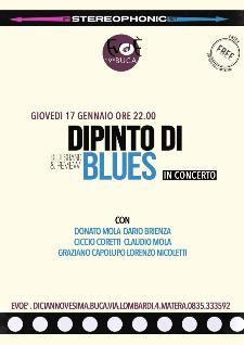 Dipinto di Blues live - 17 gennaio 2013 - Matera