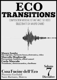 Eco Transition live - 7 dicembre 2013 - Matera