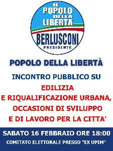 Edilizia e Riqualificazione urbana, occasioni di sviluppo e di lavoro per la città - 16 febbraio 2013 - Matera