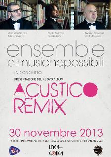 Ensemble di Musiche Possibili - 30 novembre 2013 - Matera