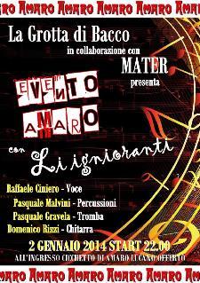 Evento Amaro - 2 gennaio 2014 - Matera