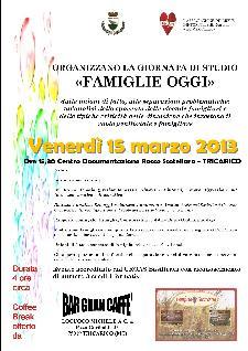 Famiglie Oggi - 15 marzo 2013 - Matera