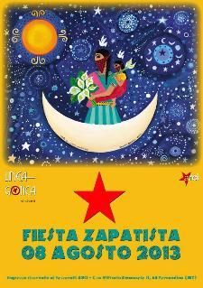 Fiesta Zapatista - 8 agosto 2013 - Matera