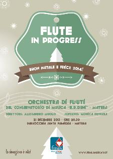 Flute in Progress per il Concerto per la Vita  - Matera