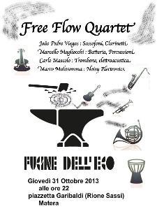 Free Flow Quartet live - 31 ottobre 2013 - Matera