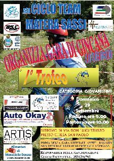 Gara di Gincana - I° Trofeo - 29 settembre 2013 - Matera