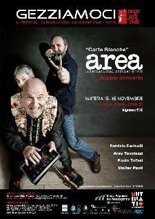 Gezziamoci 2013 - AREA in concerto  - Matera