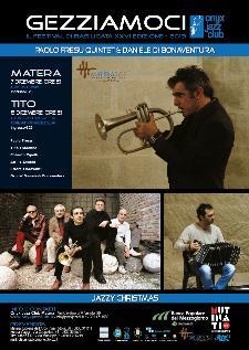 Gezziamoci 2013 - Paolo Fresu Quintet Jazzy Christmas  - Matera