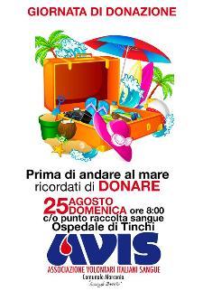 Giornata di donazione - 25 agosto 2013  - Matera