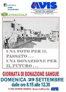 Giornata di donazione di Sangue - 29 settembre 2013 - Matera