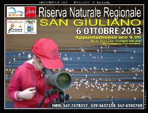 GIORNATA EUROPEA DI BIRDWATCHING CON LA LIPU NELLA RISERVA DI SAN GIULIANO  - Matera