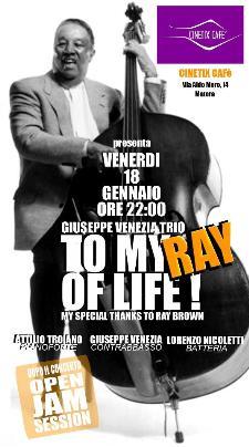 Giuseppe Venezia trio + Jam Session - 18 gennaio 2013 - Matera