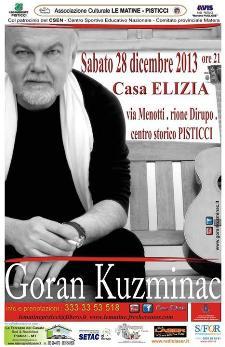 Goran KUZMINAC in concerto - 28 dicembre 2013 - Matera