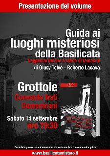 Guida ai luoghi misteriosi della Basilicata  - 14 settembre 2013 - Matera