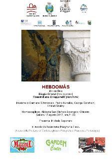 Hebdomas - Sotto il Cielo d'Agosto - 17 agosto 2013 - Matera