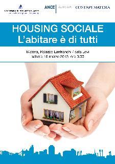 Housing sociale, l'abitare è di tutti - 16 marzo 2013 - Matera