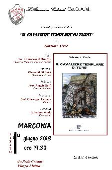 Il cavaliere Templare di Tursi - 1 giugno 2013 - Matera