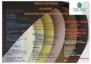 Il futuro dell'agroalimentare di qualità - 26 settembre 2013 - Matera