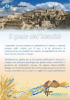 Il gusto dell'identità - 29 luglio 2013 - Matera
