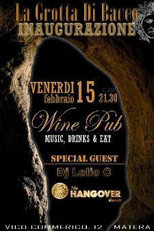 Inaugurazione La Grotta di Bacco - 15 febbraio 2013 - Matera