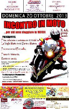 Incontro in Moto - 13 ottobre 2013 - Matera
