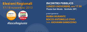Incontro SEL e Basilicata 2.0 - 4 novembre 2013 - Matera