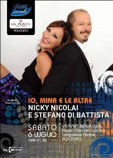 Io Mina e le altre - Nicky Nicolai e Stefano Di Battista - 6 luglio 2013 - Matera