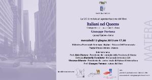 Italiani nel Queens - 12 giugno 2013 - Matera