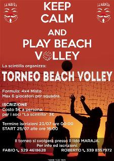 Keep Calm and Play Beach volley - 25 luglio 2013 - Matera
