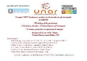 L'Inclusione Sociale e Professionale per gli Immigrati - 23 marzo 2013 - Matera