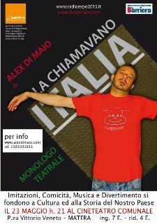 LA CHIAMAVANO ITALIA - Matera