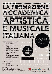 La Formazione Accademica Artistica e Musicale Italiana - 14 febbraio 2013 - Matera