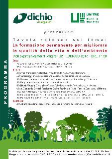 La formazione permanente per migliorare la qualità della vita e dell'ambiente - 22 febbraio 2013 - Matera