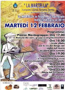 La Martella in Festa, il Carnevale dalla Tradizione al 2019 - 12 febbraio 2013 - Matera