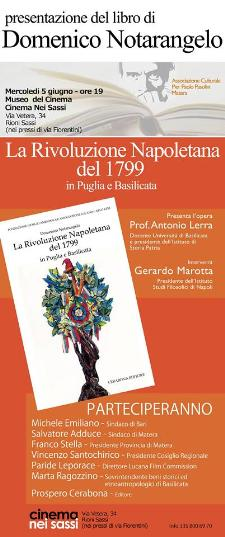 La Rivoluzione Napoletana del 1799  - 5 giugno 2013 - Matera