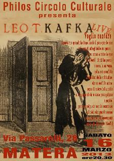 LEO T. KAFKA - 16 marzo 2013 - Matera