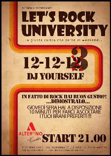 Let's Rock University - 12 dicembre 2013 - Matera